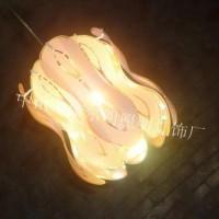 单头吊灯现代简约餐厅灯玻璃吊线灯欧式美式田园