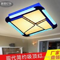 现代简约吸顶灯 30wLED光源吸顶灯 创意个性主卧吸顶灯