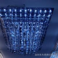 供应现代简约客厅灯具LED圆形吸顶灯餐厅灯书房灯卧低压灯厂家水晶低压灯中山低压灯