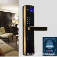 马牌锁业密码指纹门锁豪华3合1防盗指纹锁 智能密码指纹锁