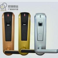 欧瑞新款OR56指纹锁 智能刷卡感应门锁 宾馆锁感应卡锁